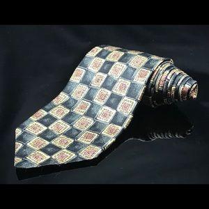 Robert Talbott Best Studio Silk Red checkered tie